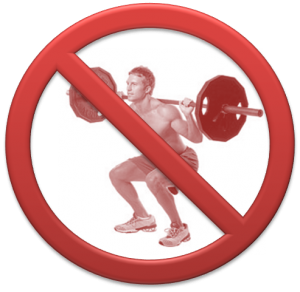 Back Injury Cause Back Pain In Weightlifting Athletes While Squatting