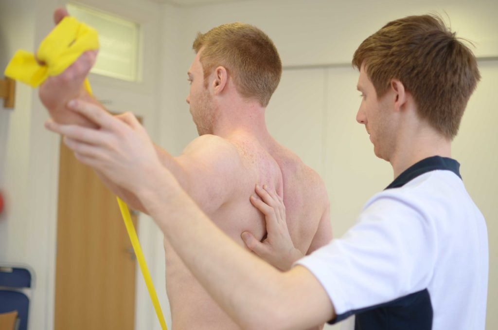 Winged Scapula Physiotherapy Treatment