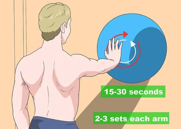 Winged Scapula Exercise