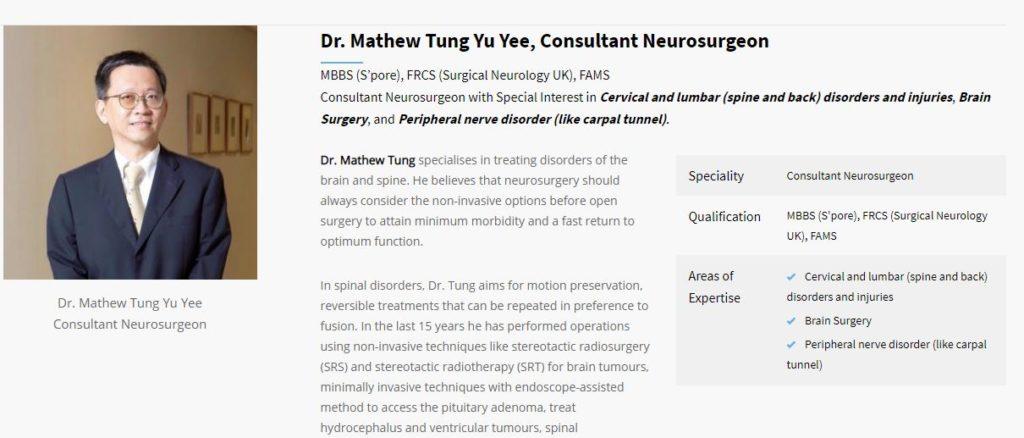 Brain Tumor Specialist