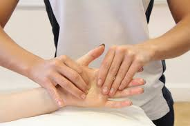 Finger Fracture Physiotherapy Massage